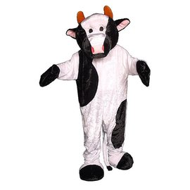 Dress Up America Cow Mascot - Adult
