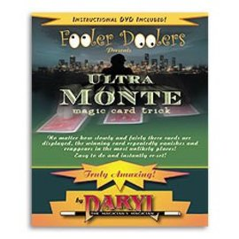 Fooler Doolers Ultra Monte with DVD by Daryl - Card (M10)