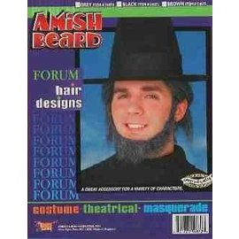 Forum Novelties Amish Beard - Grey