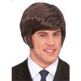 Franco American 70's Dude Wig - Brown