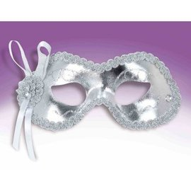 Forum Novelties Celebration Mask - Silver