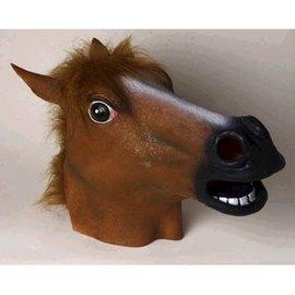 Forum Novelties Deluxe Latex Horse Mask - Brown (348)