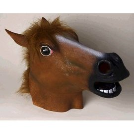 Forum Novelties Latex Horse Mask, Brown (354)