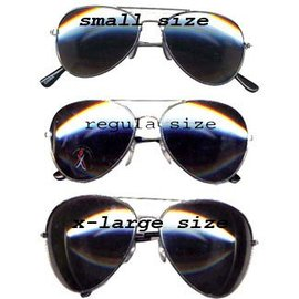Aviator - Police Glasses XL