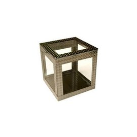 Ickle Pickle Products Crystal Clear Cube 4 inch, Silent (M10)