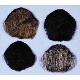Lacey Costume Wig 1 Point Beard Goatee Grey - Human Hair