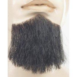 Lacey Costume Wig 3 Point Beard Black - Human Hair