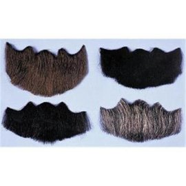 Lacey Costume Wig Beard 5 Point Black