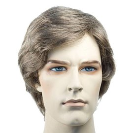 Lacey Costume Wig Better Man's Wig, Medium Grey Wig
