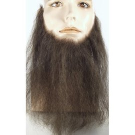 Lacey Costume Wig Full Face 16 inch Black Beard