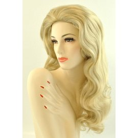 Lacey Costume Wig Deluxe Showgirl Blonde 22 Wig