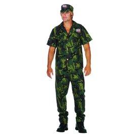 RG Costumes And Accessories Camo Commando - Adult Medium 36-38