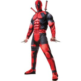Rubies Costume Company Deadpool Deluxe - Adult XL 44-46