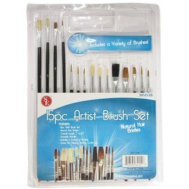 Sona Enterprises 15 pc. Artist Brush Set