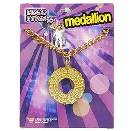 Forum Novelties Disco Fever Medallion