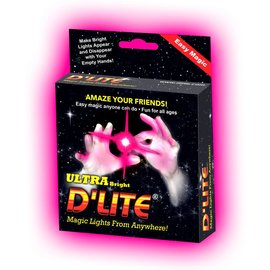 Lite Up Thumbs D'Lite Junior, Pink - Pair (Ultra Brite)