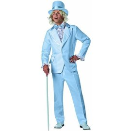 Rasta Imposta Dumb and Dumber Harry Dunne, Blue Tux - Adult One Size