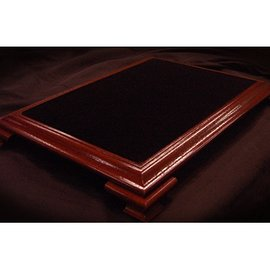 Subdivided Studios Elite Table Mahogany with Black Velvet (Small) by Subdivided Studios - Trick