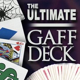 Magic Makers Ultimate Gaff Bicycle Deck with DVD - 3 Classic Card Tricks