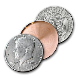 Johnson Products Expanded Shell, Half Dollar - Heads by Johnson - Coin (M10)