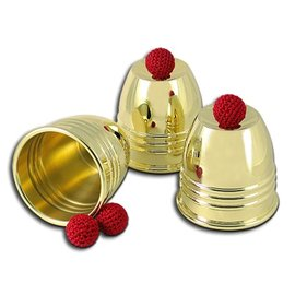 Johnson Products Cups And Balls, Brass by Johnson