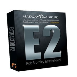 Alakazam Magic UK Extractor V2 E2 (with DVD and Gimmick) by Rob Bromley and Peter Nardi - Trick