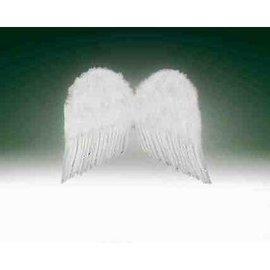 Forum Novelties Feather Wings  22 inches - White
