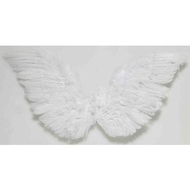 Forum Novelties Club Feather Angel Wings  - Small