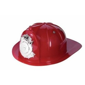 Forum Novelties Delxe Fire Hat - Red