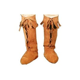 Forum Novelties Fringed Hippie Boot Covers (C3)