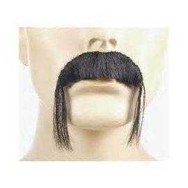 Lacey Costume Wig Fu Manchu Black Moustache