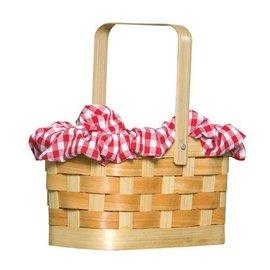 Rasta Imposta Gingham Basket Handbag