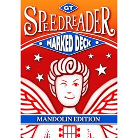 GT GT Speedreader Marked Deck, 809 Mandolin Blue Back