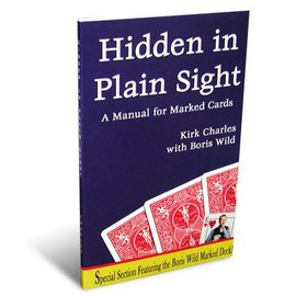 Fun inc. Hidden in Plain Sight: A Manual For Marked Cards book