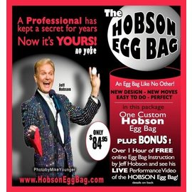 Hobson Enterprises Hobson Egg Bag by Jeff Hobson - Red (M10)