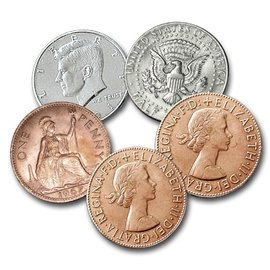 Johnson Products Hopping Half - Johnson - Coin (M10)