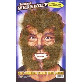 Forum Novelties Instant Werewolf Facial Hair