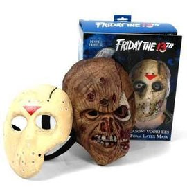 Rubies Costume Company Jason Voorhees Foam Latex Mask - Collector Quality