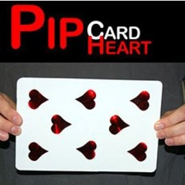 MAK Magic Pip Card Heart - Jumbo (M8)