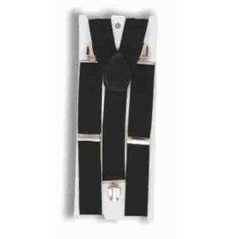 Forum Novelties Suspenders Wide - Black
