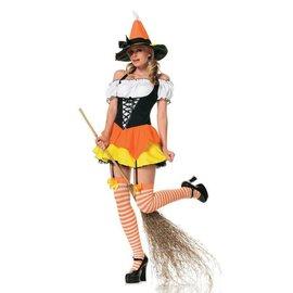 Leg Avenue Kandy Korn Witch - Adult Small 2-6