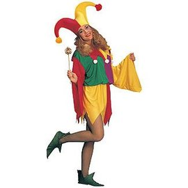 Rubies Costume Company King's Jester - Fits up to size 12