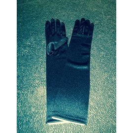 Beyco Gloves Black Elbow Length Satin