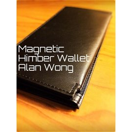 Alan Wong Leather Magnetic Himber Wallet by Alan Wong (M10)