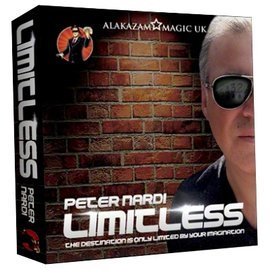 Alakazam Magic UK Limitless (7 of Hearts) DVD and Gimmicks by Peter Nardi - DVD