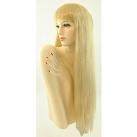 Lacey Costume Wig Long Pageboy Wig, Blonde Wig
