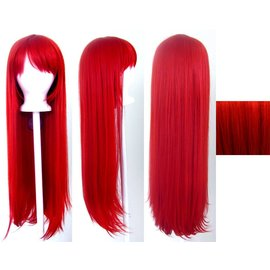 Lacey Costume Wig Long Pageboy, Red Wig