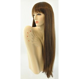 Lacey Costume Wig Long Pageboy, Lt. Brown Wig