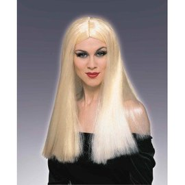 Forum Novelties Long Blonde Wig, Parted (360)