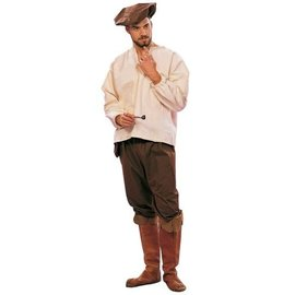 RG Costumes And Accessories Renaissance Peasant, Male - Adult One Size